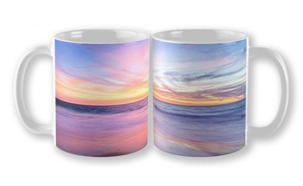 Aussie Sunset, Claytons Beach Mug design by Dave Catley featuring a typical Aussie Sunset, Claytons Beach, Mindarie available from our MADAboutWA store.