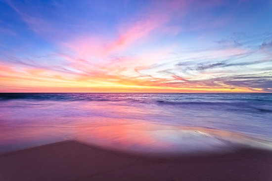 Aussie Sunset, Claytons Beach, Mindarie