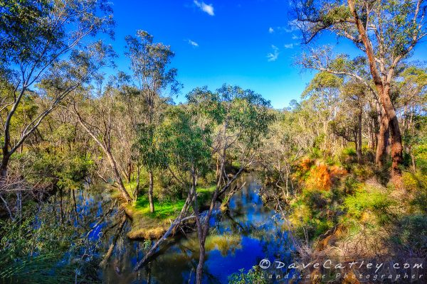 Bend in the River, Noble Falls, Perth, Western Australia