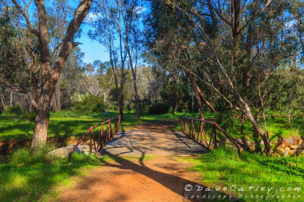 Bridge for the Short Walk, Noble Falls, Perth, Western Australia