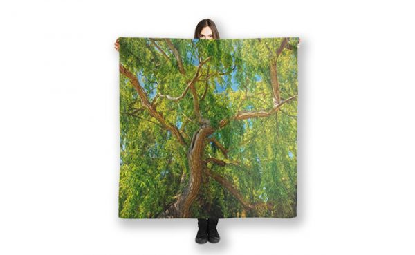 Colour of Life, Yanchep National Park Scarf designed by Dave Catley, Fine Art Photographer, available from our MADAboutWA store.