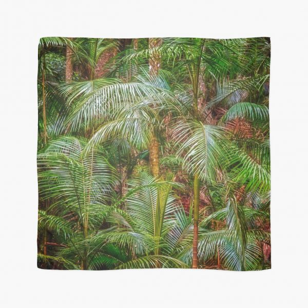 Deep in the Forest, Tamborine Mountain Scarf, one of the items sold on the day!