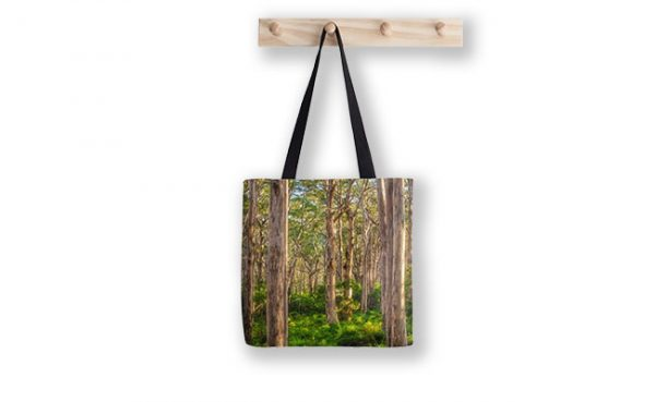 Forest Twilight, Boranup Forest Tote Bag designed by Dave Catley, Fine Art Photographer, available in our MADAboutWA Store.
