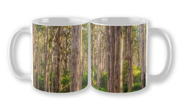 Forest Twilight, Boranup Forest Mug design by Dave Catley, Fine Art Photographer, available in our MADAboutWA Store.