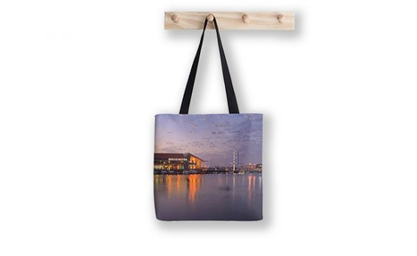 Harbour Lights, Hillarys Boat Harbour Tote Bag designed by Dave Catley, Fine Art Photographer, available from our MADAbout WA Store.