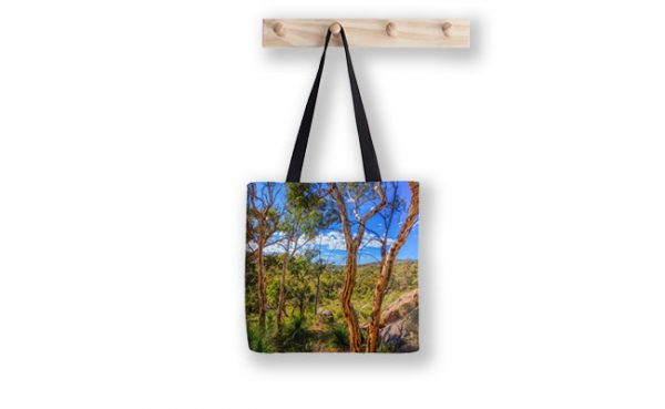 Heritage View, John Forest National Park Tote Bag designed by Dave Catley, Fine Art Photographer, available from our MADAboutWA Store.