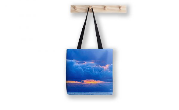 Hidden Fires, Indian Ocean, Perth Tote Bag designed by Dave Catley, Fine Art Photographer, available in our MADAboutWA Store.