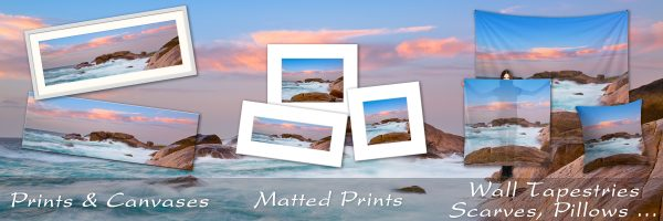 Prints & Photo Gifts of The Margaret River Coastline, Western Australia