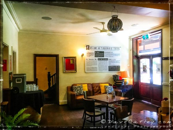 Indoor Dining at The Parky, Parkerville, Mundaring, Western Australia