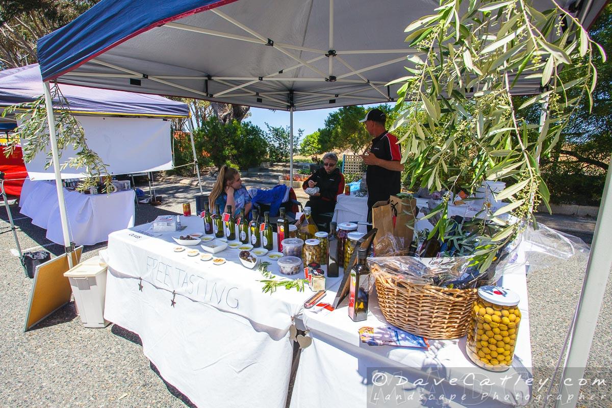 Jumanga Olives, Yanchep Monthly Markets, Wanneroo, Western Australia