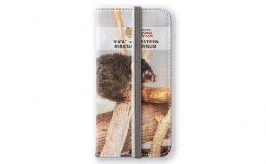 Kaya the Ringtail Possum, Native Animal Rescue iPhone Wallet featuring Kaya the Ringtail Possum, Native Animal Rescue available from our MADCAT.RedBubble.com store.