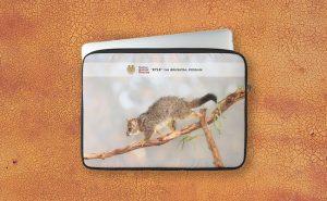 Kyle the Brushtail Possum, Native Animal Rescue Laptop Sleeve featuring Kyle the Brushtail Possum, Native Animal Rescue available from our MADCAT.RedBubble.com store.