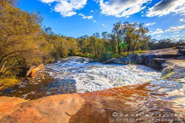 Lens Flare, Noble Falls, Perth, Western Australia