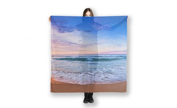 Moonscape Bunker Bay Scarf design by Dave Catley, Fine Art Photographer, available in our MADAboutWA Store