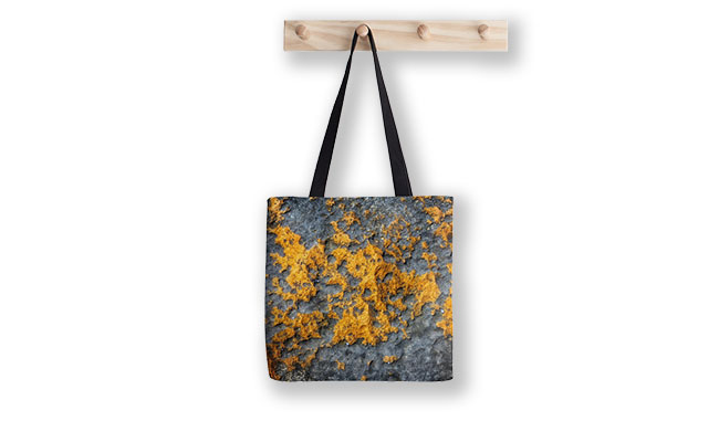 Mountains of Gold, Shorehaven Beach Tote Bag designed by Dave Catey, Fine Art Photographer, available from our MADAboutWA Store.