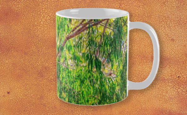 Natures Greens, Yanchep National Park Mug design by Dave Catley featuring Winter colours in the Yanchep National Park available from our MADAboutWA store.