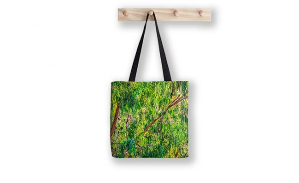 Natures Greens, Yanchep National Park Tote Bag designed by Dave Catley, Fine Art Photographer, available from our MADAboutWA Store.