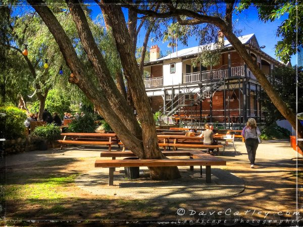 Outdoor Dining at The Parky, Parkerville, Mundaring, Western Australia