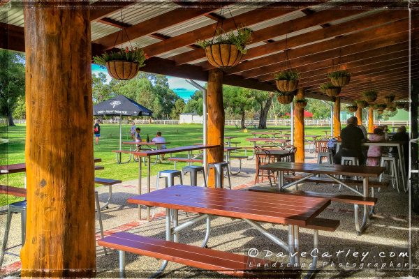 Outdoor Seating, The Henley Brook, Swan Valley, Western Australia