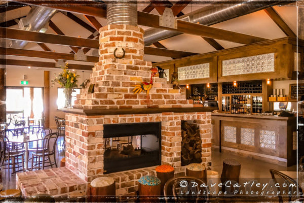 Log Fire, The Henley Brook, Swan Valley, Western Australia