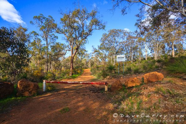 Rejoin the Dirt Trail, Noble Falls, Perth, Western Australia