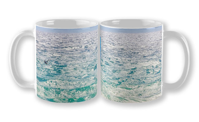 Ride the Waves, Scarborough Beach Mug design by Dave Catley featuring Wind surfing the waves, Scarborough available from our MADAboutWA store.