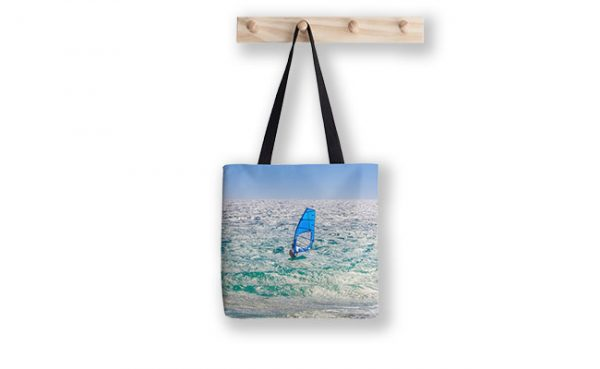 Ride the Waves, Scarborough Beach Tote Bag designed by Dave Catley, Fine Art Photographer, available from our MADAboutWA Store.