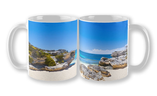 Rotto Paradise, Little Parakeet Bay, Rottnest Island Mug featuring Rotto Paradise, Little Parakeet Bay, Rottnest Island available from our MADAboutWA store.