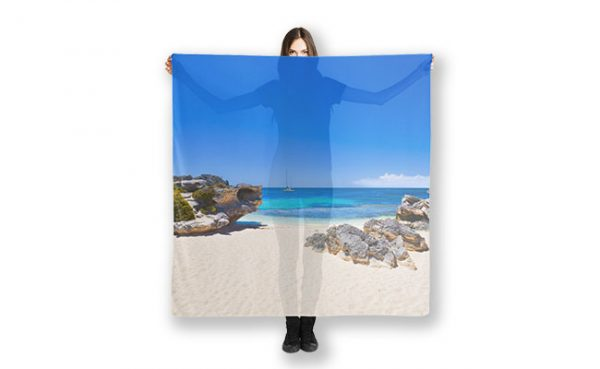 Rotto Paradise, Little Parakeet Bay, Rottnest Island Scarf featuring Rotto Paradise, Little Parakeet Bay, Rottnest Island available from our MADAboutWA store.