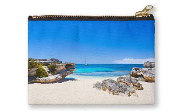 Rotto Paradise, Little Parakeet Bay, Rottnest Island Studio Pouch featuring Rotto Paradise, Little Parakeet Bay, Rottnest Island available from our MADCAT.RedBubble.com store.