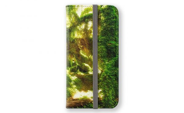 MAD About WA inspired Secret Garden 2 iPhone Wallet designed by Dave Catley and available in our MADCAT RedBubble store