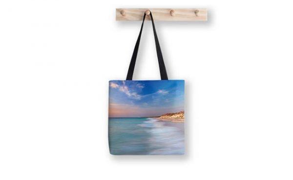 Smooth Waters, Quinns Rocks Tote Bag designed by Dave Catley, Fine Art Photographer, available in our MADAboutWA Store.