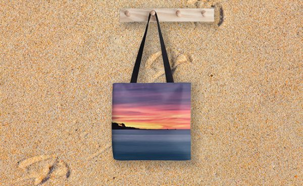 Sunset Peninsular, Bunker Bay Tote Bag designed by Dave Catley,Fine Art Photographer, available in our MADAboutWA Store.