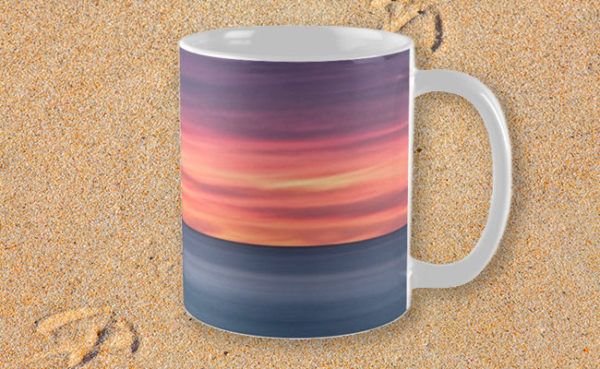 Sunset Peninsular, Bunker Bay Mug design by Dave Catley featuring the Bunker Bay peninsular at sunset available from our MADCAT RedBubble store.
