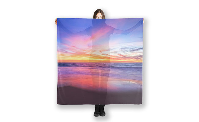 MAD About WA inspired Sunset Pink Scarf designed by Dave Catley,Fine Art Photographer, available in our MADAboutWA store