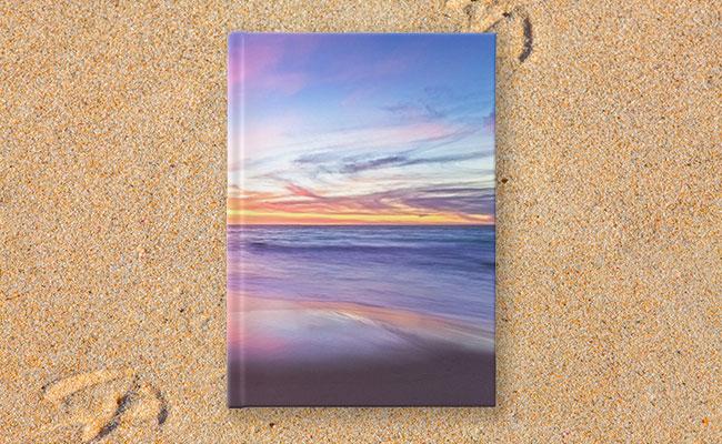 Aussie Sunset, Claytons Beach Hardcover Journal