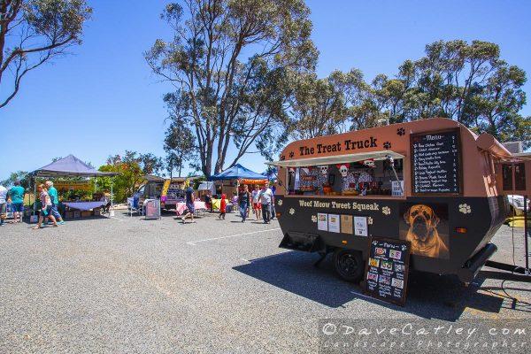 The Treat Truck for Dog Snacks, Yanchep Monthly Markets, Wanneroo, Western Australia