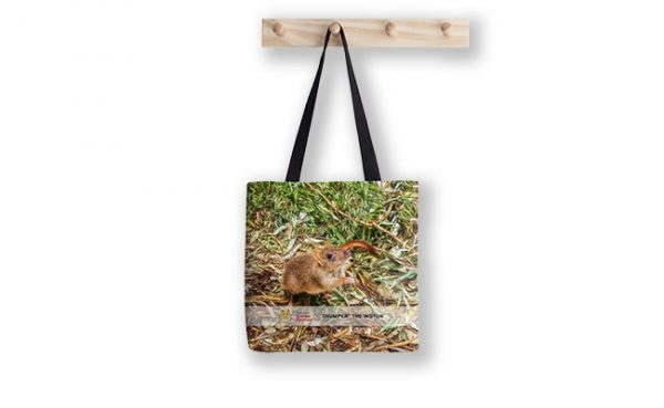 Thumper the Woylie, Native Animal Rescue Tote Bag featuring Thumper the Woylie, Native Animal Rescue available from our MADCAT.RedBubble.com store.