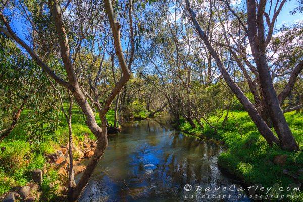 View South of the Bridge, Noble Falls, Perth, Western Australia