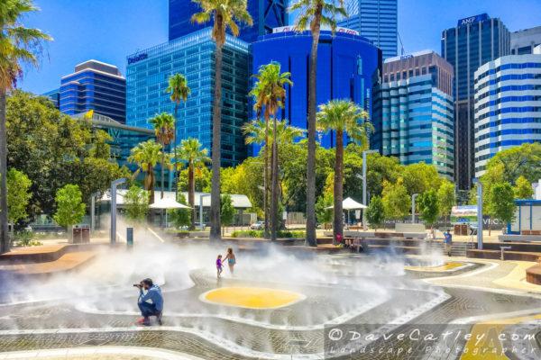 Water Park, Elizabeth Quay, Perth, Western Australia