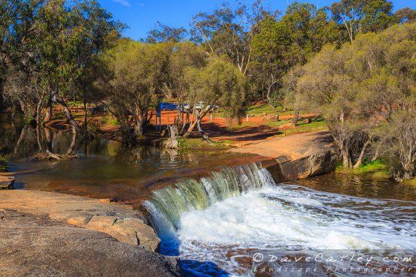 Waterfall in Full Flow, Noble Falls, Perth, Western Australia