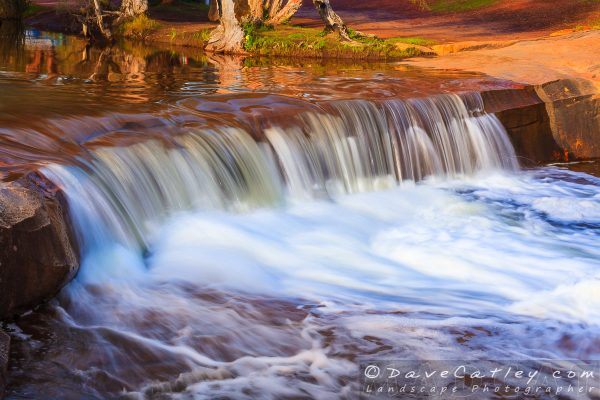 Waterfall in Full Flow, Noble Falls, Perth, Western Australia
