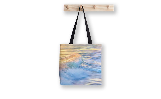 Waves In Motion, Quinns Rocks, Perth Tote Bag